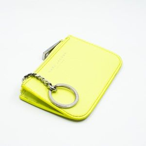 yellow marc jacobs wallet